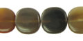 Greyhorn flat square 16mm wholesale beads