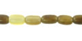Grey horn 3-4mm rice wholesale beads
