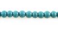 Blue limestone round 5mm wholesale beads