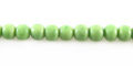 Green limestone round 5mm wholesale beads