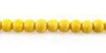 Yellow limestone round 5mm wholesale beads