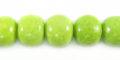 Green limestone round 10mm wholesale beads