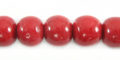 Red limestone round 10mm wholesale beads