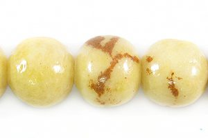 Tiger coral limestone round 10mm wholesale beads