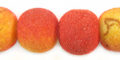 Apple coral rough limestone round 15mm wholesale beads
