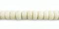White limestone 6mm heishi wholesale beads