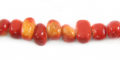Apple coral limestone nuggets 8mm wholesale beads