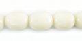 White limestone 11x8mm oval wholesale beads