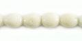 White limestone 7mm rice beads wholesale