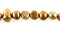 nugget pearls goldish/champagne 5-6mm wholesale beads
