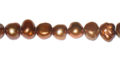 Pearl Nugget Copper ~6-8mm wholesale beads