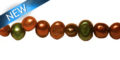 pearl nugget mix earthtones 5-6mm wholesale beads