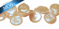 WHITE COIN PEARLS 8-9MM WHOLESALE BEADS