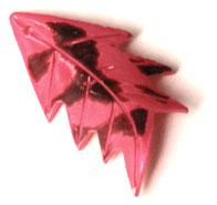Palm leaf red wholesale pendant