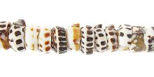 Puka shell tiger wholesale beads
