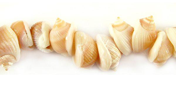Orange tapok shell wholesale beads
