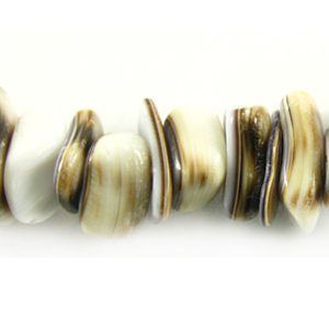 Tiger cowrie nugget wholesale beads