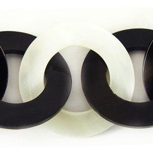 black horn/makabibi 30mm linked rings wholesale