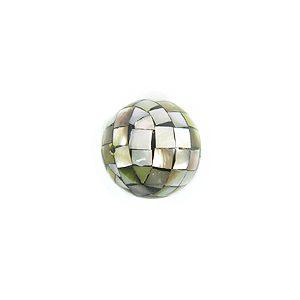 Blacklip round blocking beads 10mm wholesale