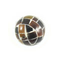 Tab shell round blocking beads 15mm wholesale