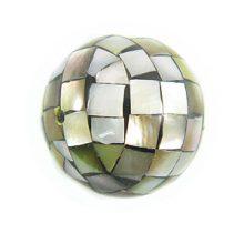 Blacklip round blocking beads 20mm wholesale