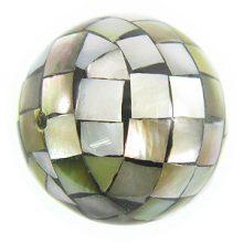 Blacklip round blocking beads 25mm wholesale