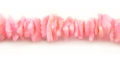 Fragum shell crazycut pink wholesale beads
