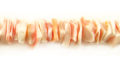 Pink rose crazycut wholesale beads
