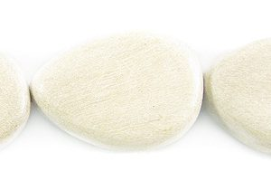 Unbleached whitewood wholesale beads