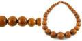 Bayong graduated wood wholesale beads