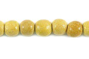 Nangka wood round wholesale beads