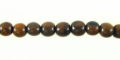 Tiger ebony round wood wholesale beads