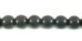 Black ebony wood round wholesale beads