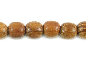 Bayong wood round wholesale beads