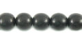 Black ebony wood round wholesale beads
