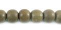 Graywood round wholesale beads
