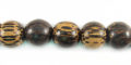 old palmwood round wholesale beads