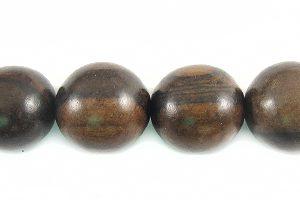 Tiger ebony round wood wholesale beads