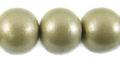 15mm wooden metallic nude bead