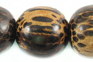 Old palmwood 20mm bead