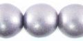 20mm metallic purple bead
