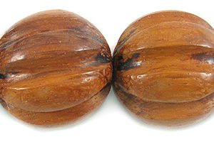 Bayong squash design 20mm bead