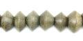 Graywood saucer 10mm bead