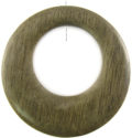 Gray-wood off center donut wholesale