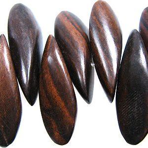 Black ebony petals