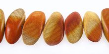 redwood tapered oval side drilled