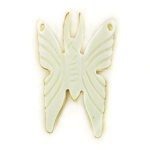 Burnt bone butterfly wholesale