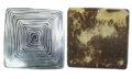 Coco square wire inlay 55mm wholesale pendants