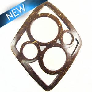 brown diamond 4-ring pendant wholesale pendants