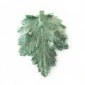 Electroplated chrysanthemum leaf pendant wholesale